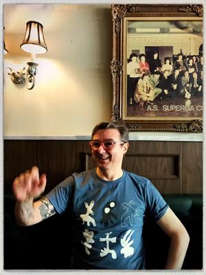 Francois au Café Olimpico